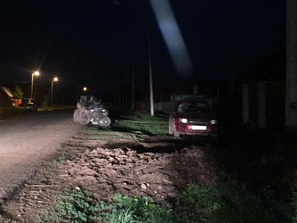 В Башкирии трое детей разбились на квадрацикле при столкновении с «Ладой Гранта»